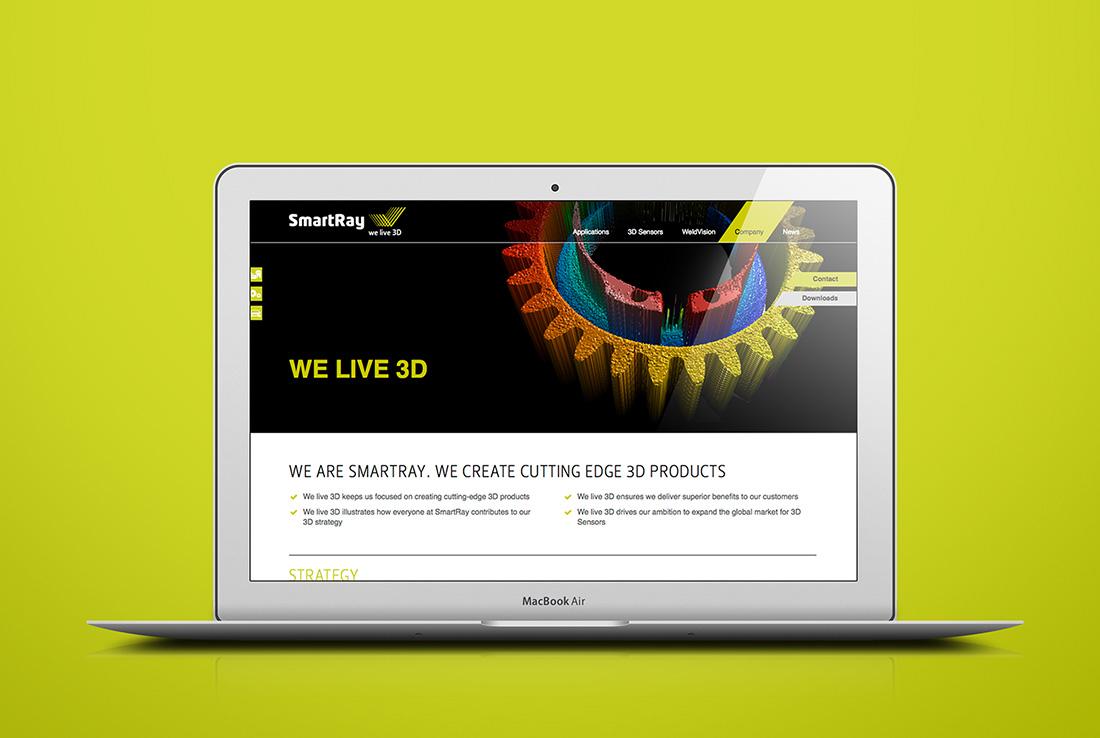 smartray website responsive