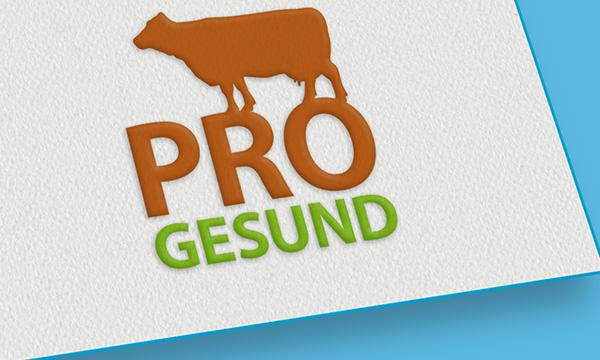 corporate design, logo fuer pro gesund