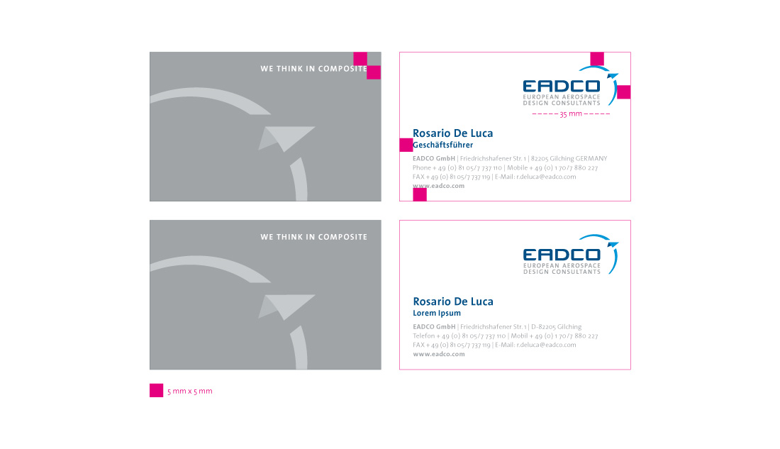 eadco, corporate design