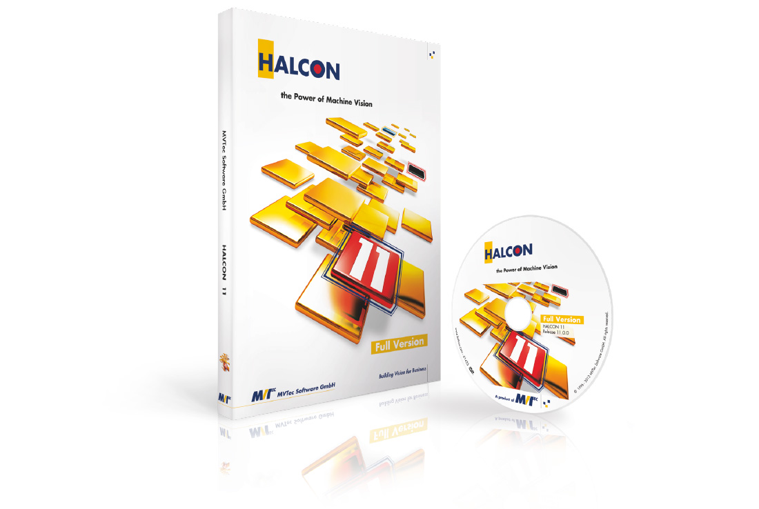 mvtec, halcon 11, keyvisual, cd-cover, packaging