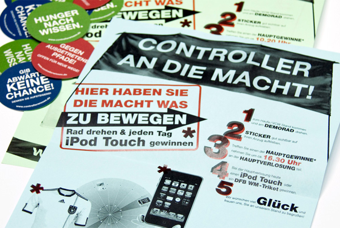 haufe guerilla aktion flyer
