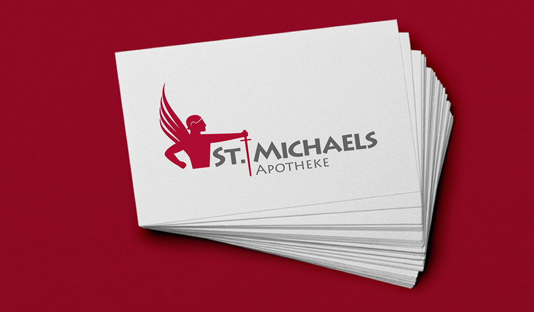 st. michael apotheke, logoentwicklung