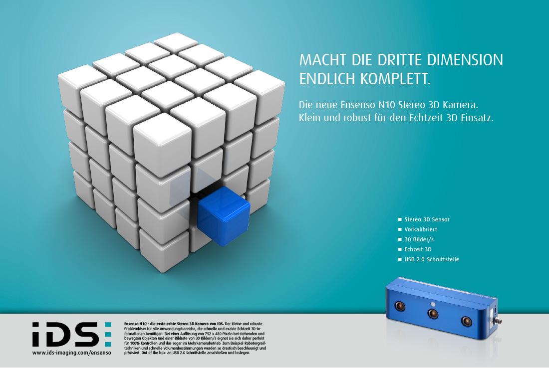 Kampagnen-Visual Ensenso N10