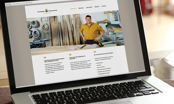 website schreinerei königsdorfer