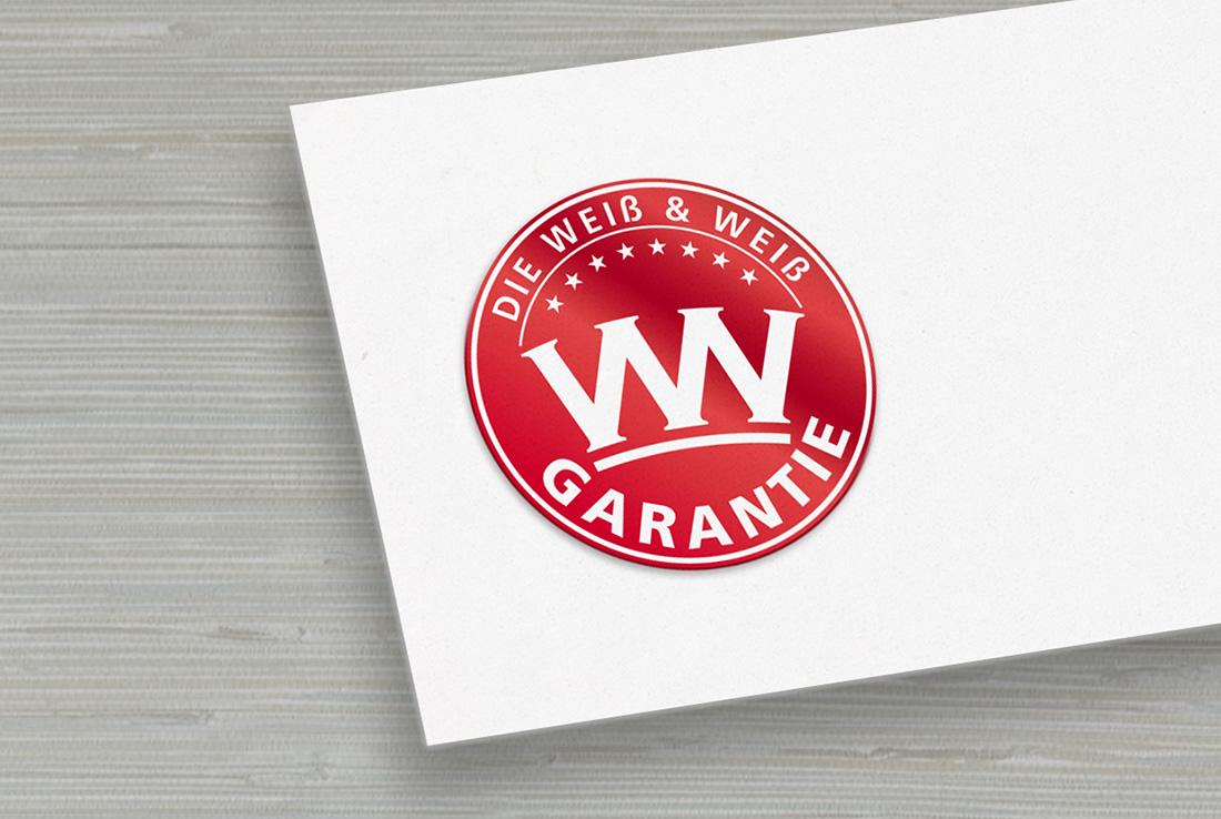 weiß und weiß logo, premium