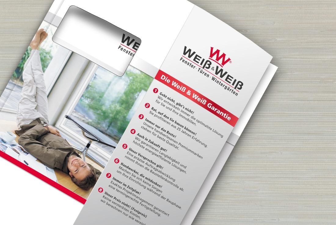 weiß und weiß, corporate design praesentationsmappe