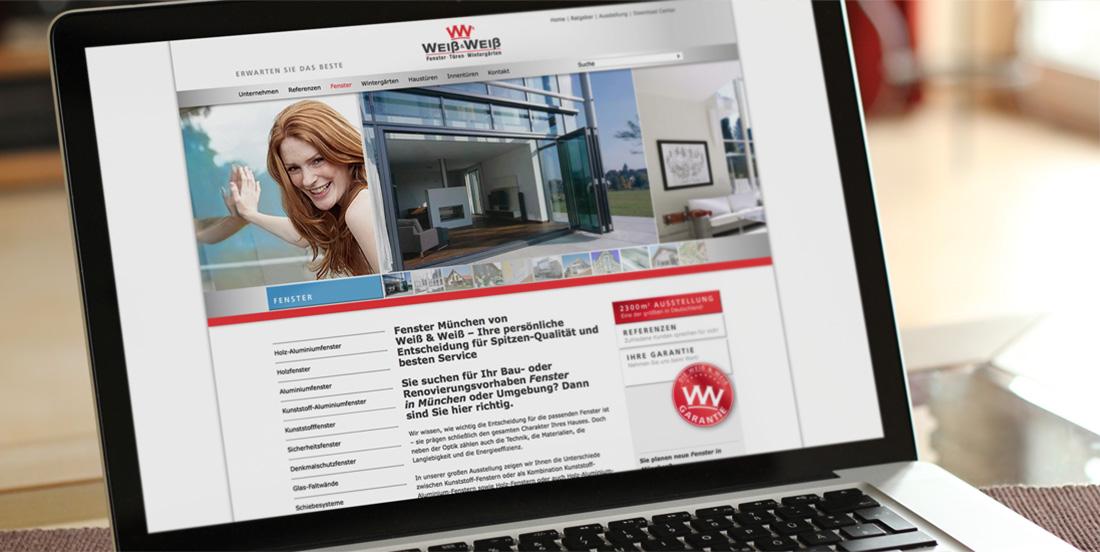 weiß und weiß website