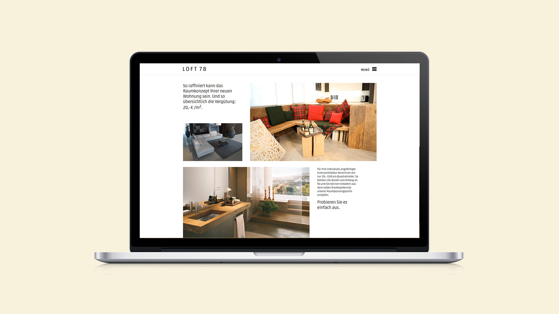 Webdesign Loft 78