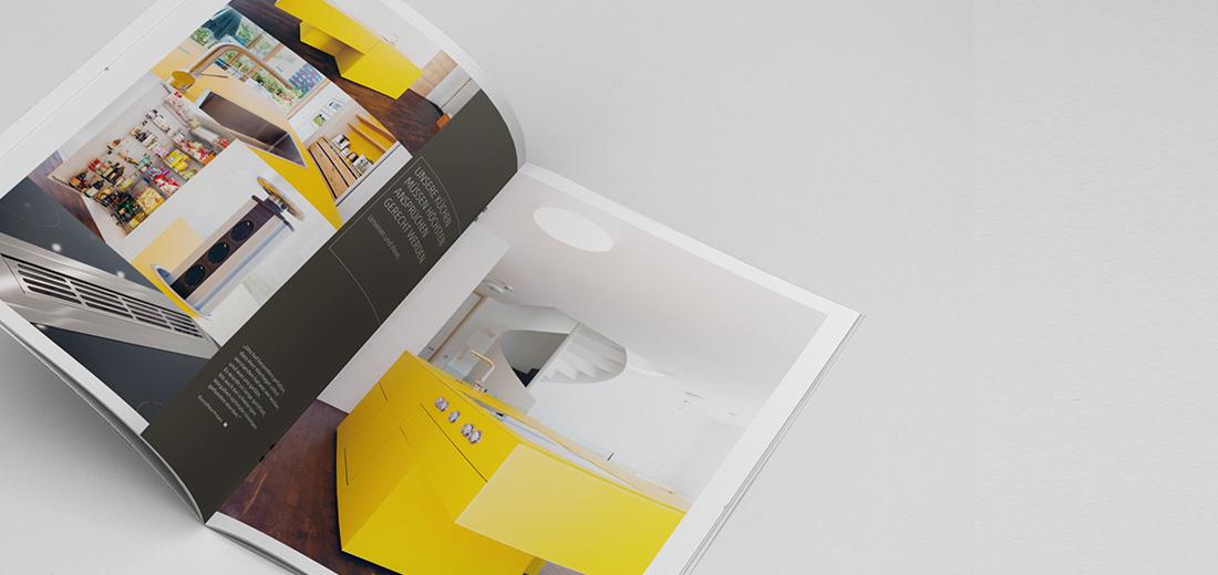 Broschüre für Küchen und Wohnen