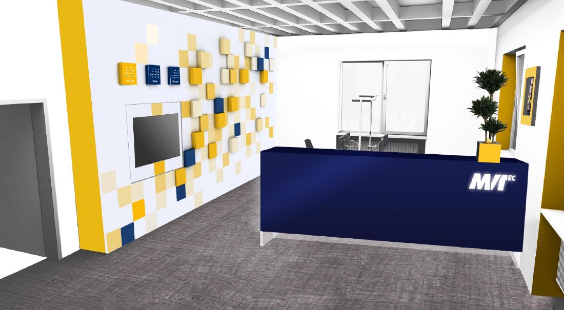 Empfangsthresen, Interior Design
