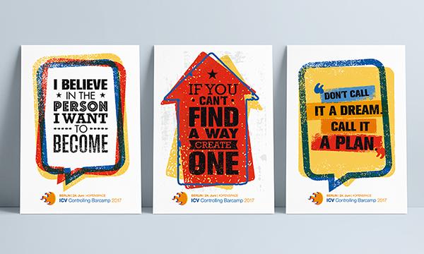 Postkarten für Barcamp