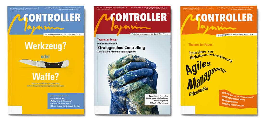 Covergestaltung für Controller Magazin