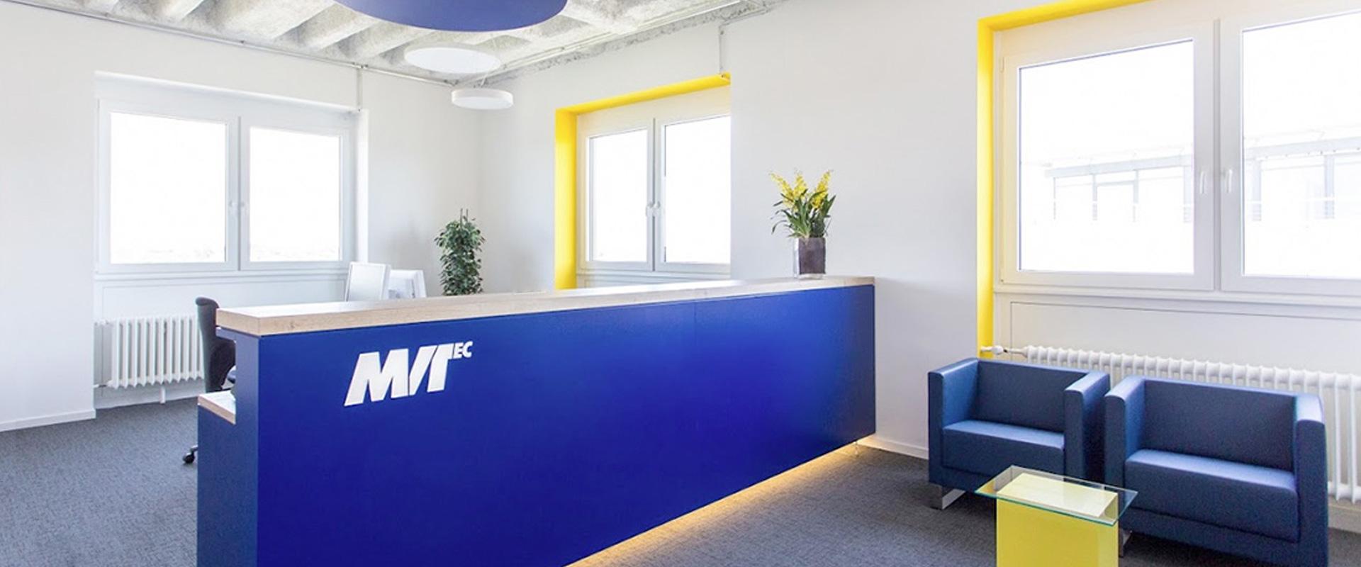 Interior Design, Empfangsraum MVTec GmbH