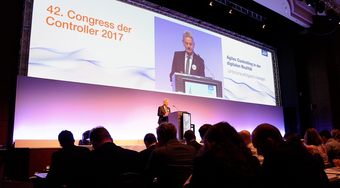 Controller Congress 2017, Keynote Präsentation