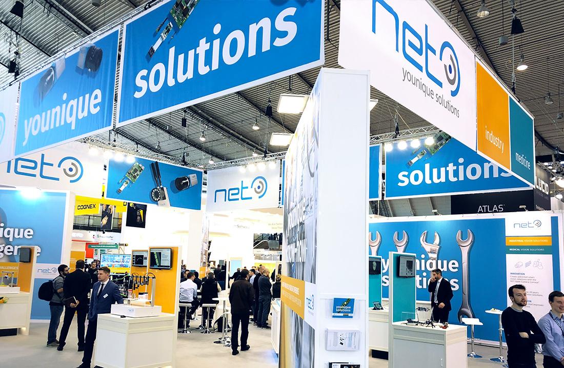NET GmbH, Messewand für Vision 2018
