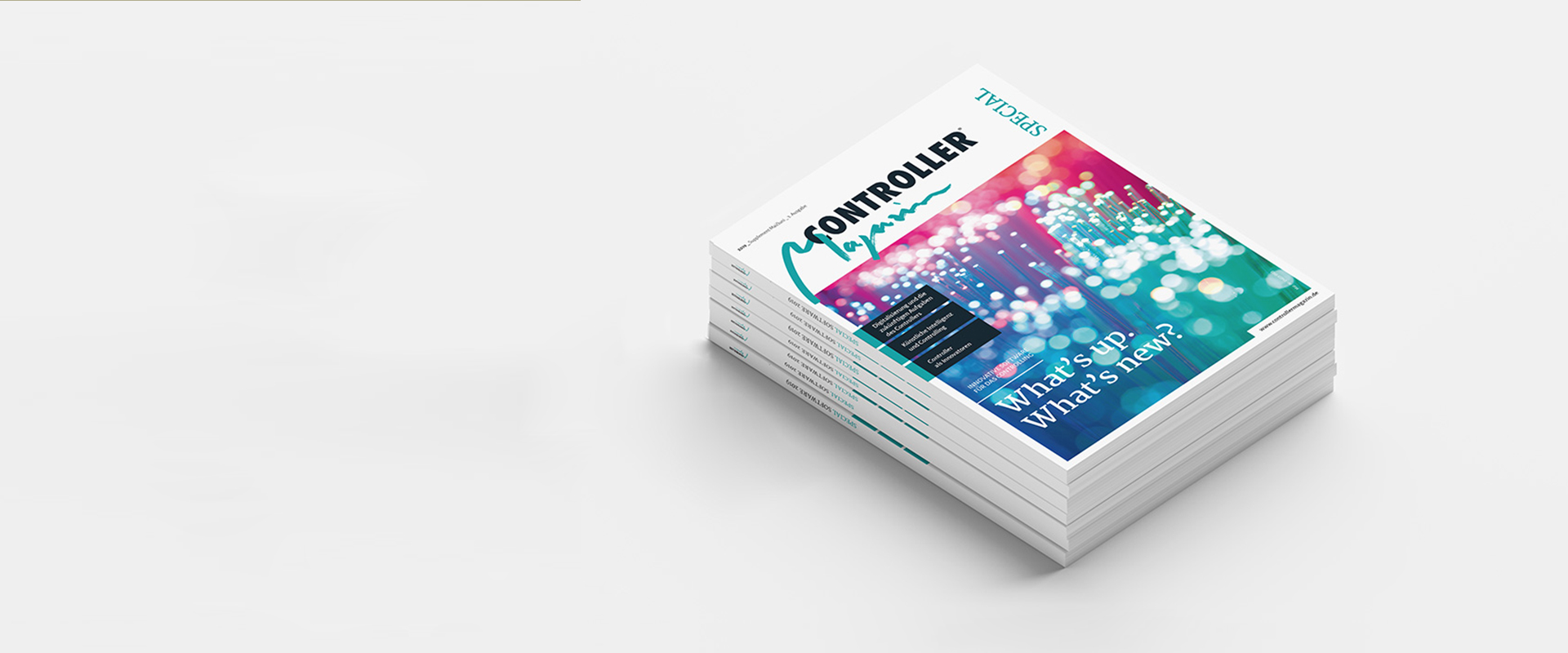 Editorial-Design, Controller-Magazin Business Intelligence