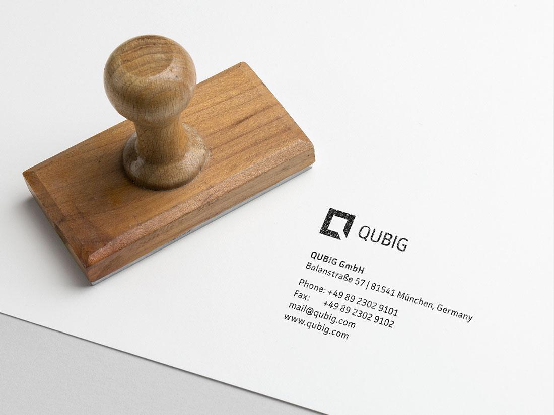 QUBIG - Corporate Design