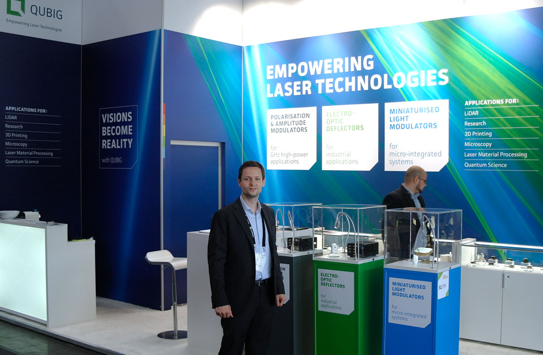 QUBIG - Messe Stand