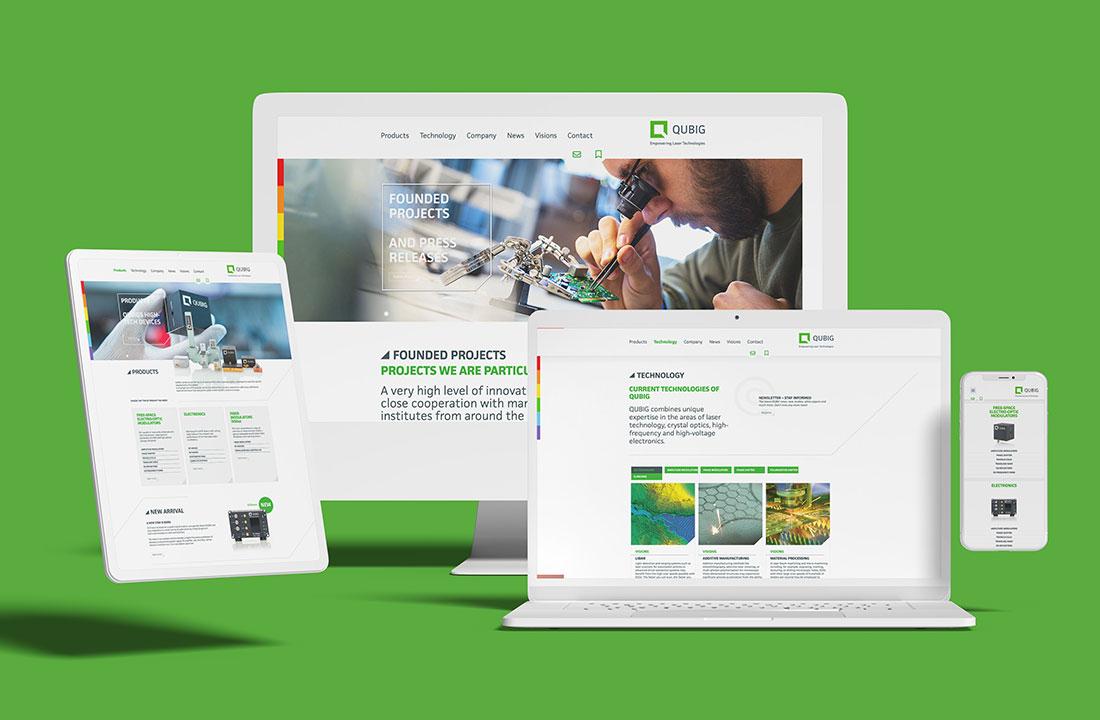 QUBIG - Website